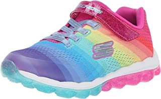 skechers skech air rainbow drops girls sneakers