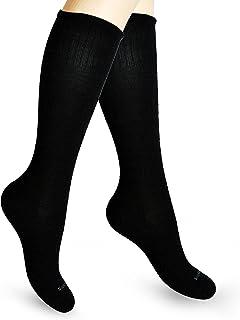 SocksLane Cotton Compression Socks for Women. Graduated Stockings for Nurses, Maternity, Travel, Flight, Pregnancy, Varico...
