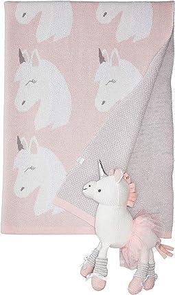 Unicorn Blanket and Toy Set (Infant)