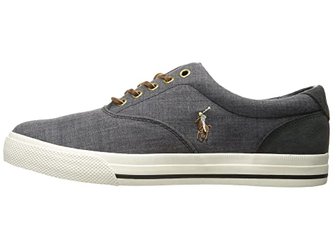 Polo Canvas End Sport Vaughn SuedeBlue Lauren Sport SuedeTaupe Dark Carbon Grey Canvas Suede Black Taupe Ralph Canvas Dark Indigo Sport End End 8wrq78