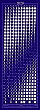 Equinox 2020 Moon Phase Calendar - Lunar Calendar - Moon Calendar - Beautifully Silk Screened
