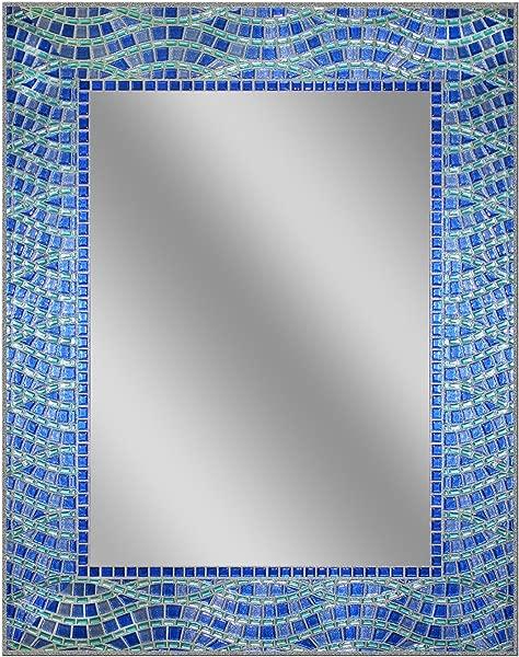 Head West 24 X 30 Blue Ocean Mirror 24x30 Inches