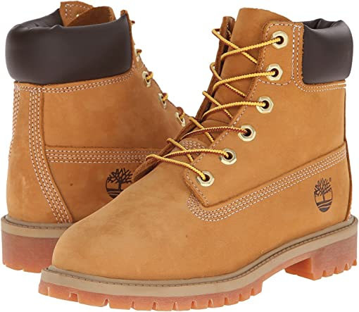 2.5 Timberland Eurosprint Boys Boots Brown Nubuck Leather Walking Hiking Size 1
