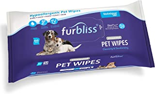 دستمال مرطوب حیوانات خانگی بهداشتی Furbliss برای سگ ها