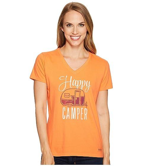 Good Happy Life Camper is Vee Crusher B5FqpT