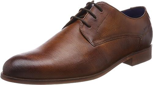 Bugatti 311457021100, zapatos de Cordones Derby para Hombre