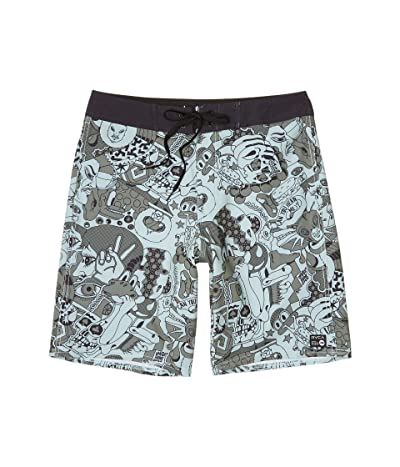 RVCA VA Trunk Print (Spearmint) Men