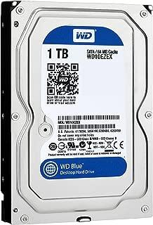 Western Digital HDD 内蔵ハードディスク 3.5インチ 1TB WD Blue WD10EZEX SATA6.0Gb/s  7200rpm 64MB 2年保証