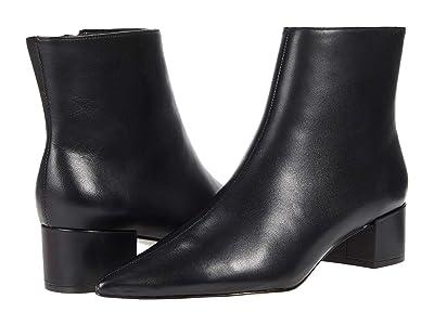 Massimo Matteo Side Zip Bootie (Black) Women