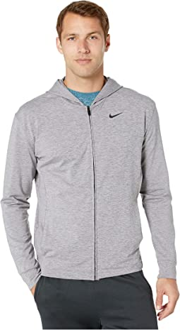 24196538ab19 Nike. Dry Hoodie Full Zip Hyperdry Transcend Lt.  75.00. New. Gunsmoke  Heather Black
