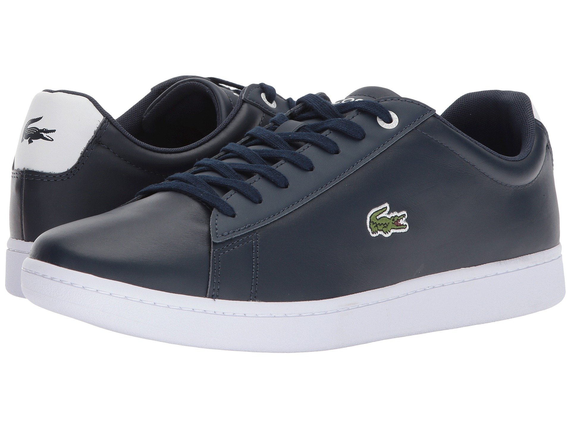 e2af00a5b9cb Lacoste Men S Hydez Leather Low-Top Sneakers