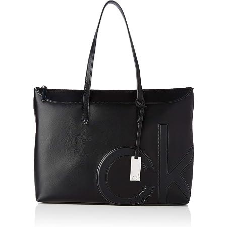 Calvin Klein Damen SHOPPER W/LT COMP MD Zubehör
