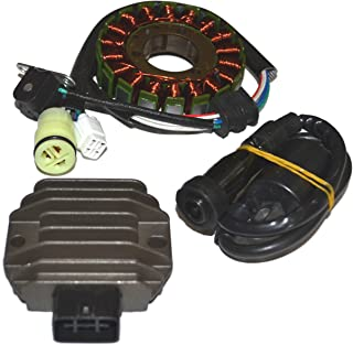 ZOOM ZOOM PARTS STATOR & REGULATOR RECTIFIER FOR YAMAHA RAPTOR 660 YFM660 2001-2005 & IGNITION COIL FREE FEDEX 2 DAY SHIPPING