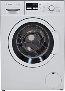 Bosch 7 kg Fully-Automatic Front Loading Washing Machine (WAK24164IN, Silver, Inbuilt Heater)