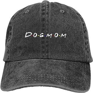 GULTMEE Unisex Truck Baseball Cap,Dog Mom,Adjustable Cowboy Cap Denim Hat for Women and Men