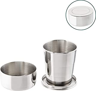 collapsible steel cup
