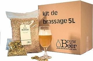 Kit de Brassage Bière Blonde 5 litres Tout Grain fabriqué en France