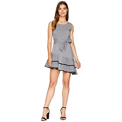 BB Dakota Holly Golightly Asymmetrical Hem Dress (Black) Women