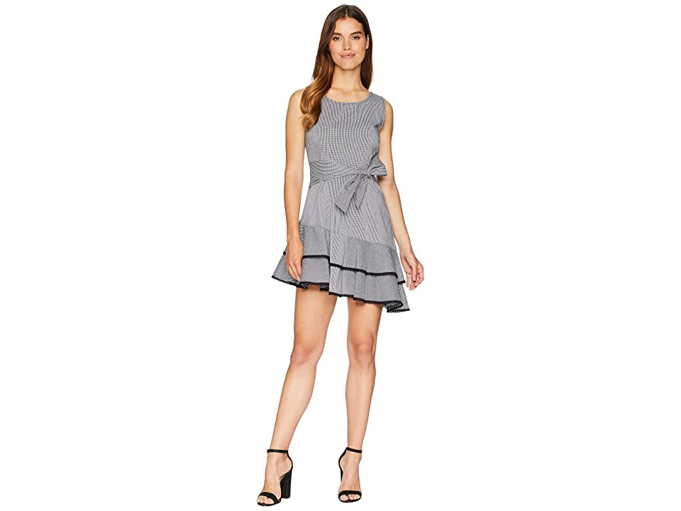 BB Dakota Holly Golightly Asymmetrical Hem Dress (Black) Women