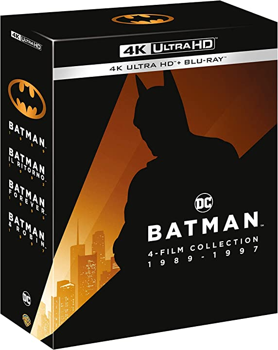 batman anthology blu-ray (box 4) (4k+br) warner bros b083ykm2br