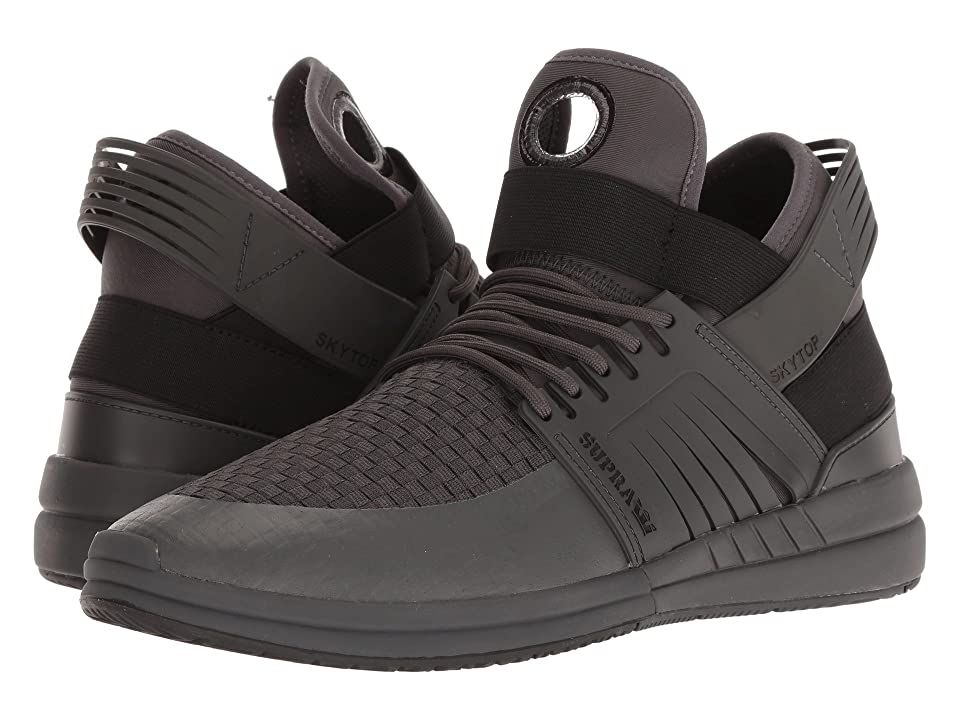 Supra Skytop V (Dark Grey/Dark Grey) Men