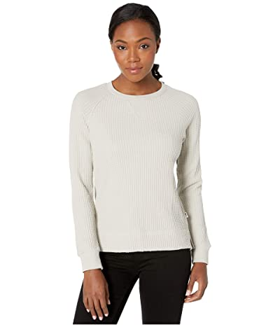 The North Face Long Sleeve Chabot Crew (Dove Grey) Women