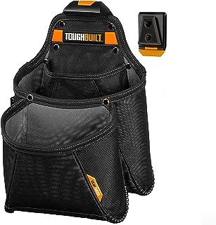 ToughBuilt - Mega Supply Tool Pouch - Multi-Pocket Organizer, Heavy Duty, Deluxe Premium Quality, Durable - 7 Pockets, Ham...