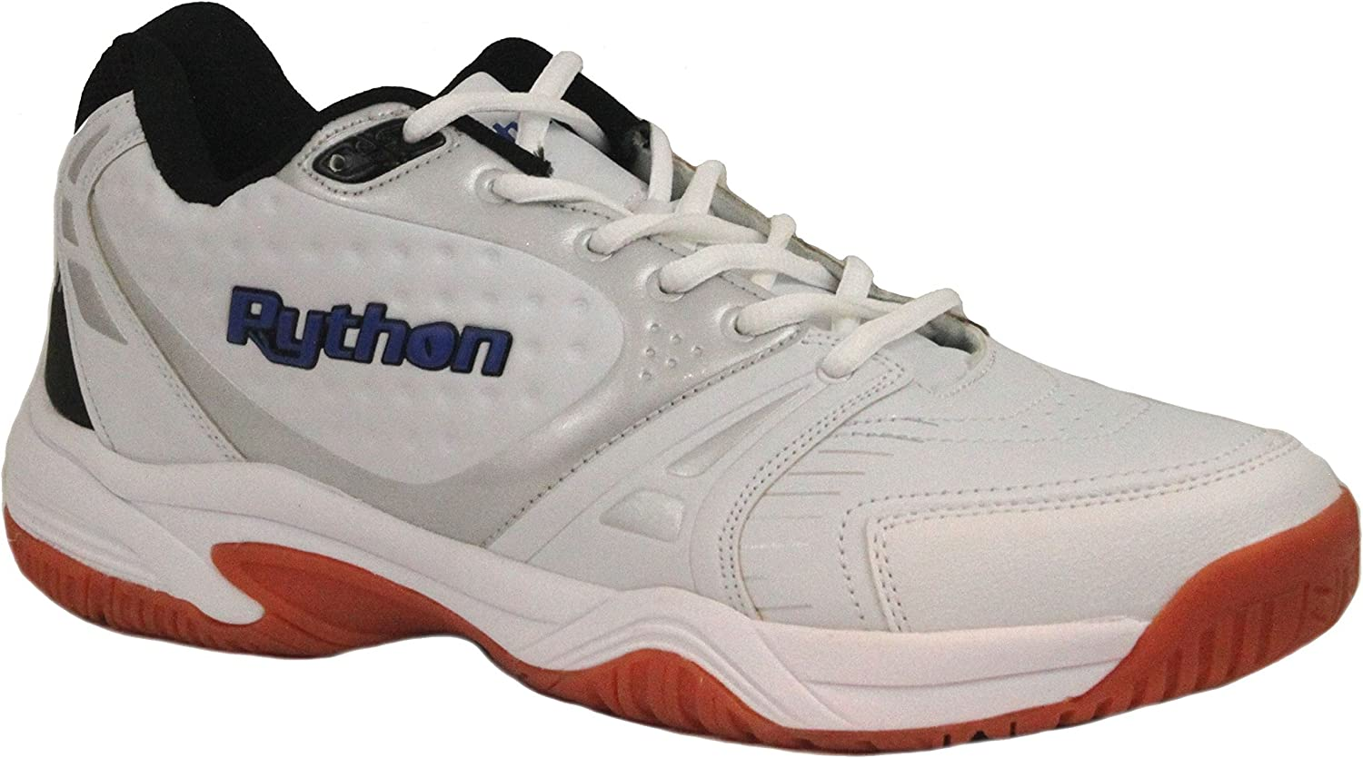 Python Men's Deluxe Indoor (Mid) Racquetball shoes (Non-Marking)