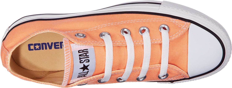 Converse Chuck Taylor All Star Season, Baskets Basses Mixte Adulte Arancione Orange Orange Pale