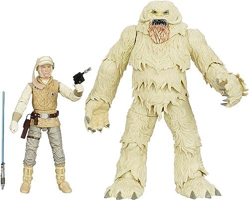 Hasbro - Figurine Star Wars schwarz Series - Luke Skywalker et Wampa 15cm - 0630509267576