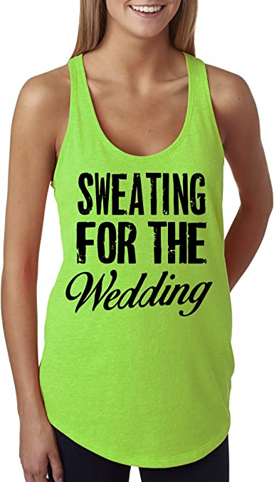 womens fitness Going to my happy place tank top bride tank top Sweating for the wedding shirt gym shirt workout apparel
