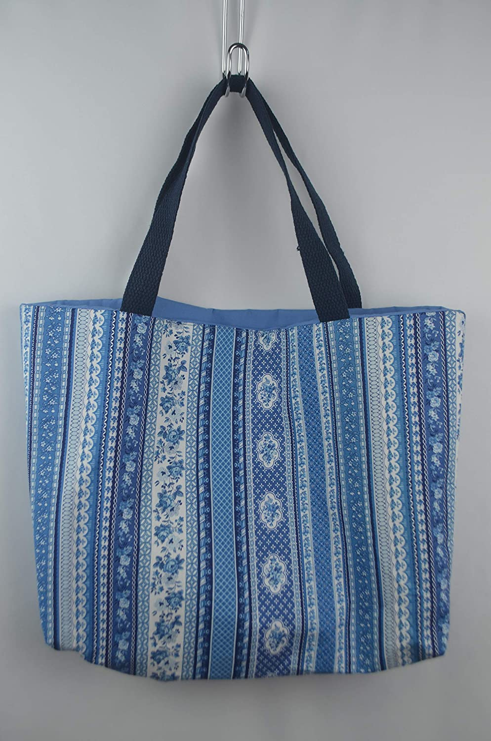 Indigo Blue New Orleans Mall Now on sale Flower Stripe Tote