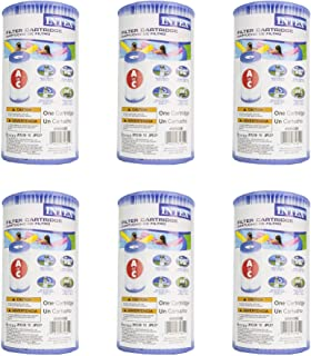 (Pack of 6) Intex 29000E/59900E Easy Set Pool Replacement Type A or C Filter Cartridge