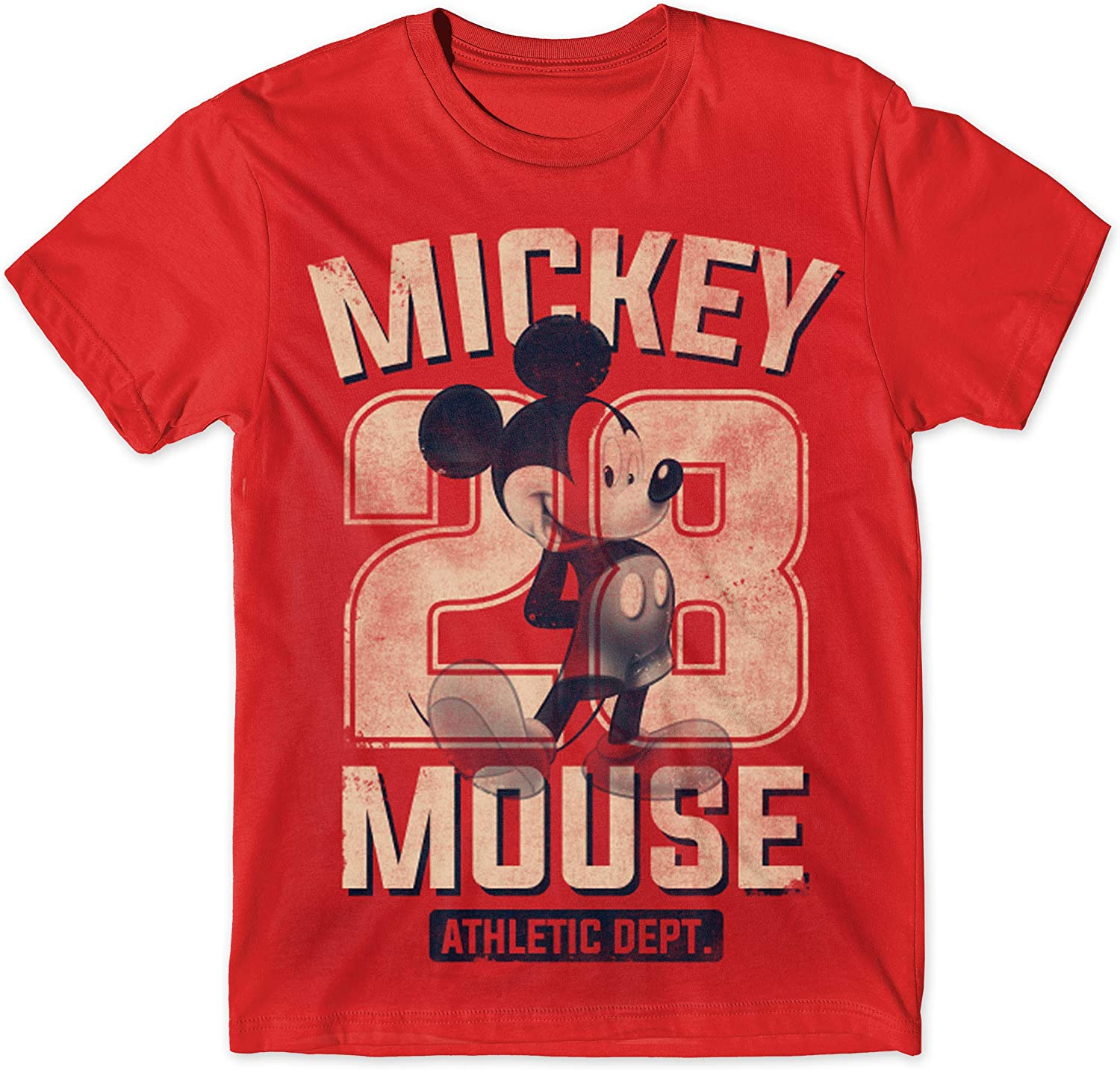 Disney Max 75% OFF Mickey Mouse 28 Athletic Classic NEW before selling Distressed Dept Vintage