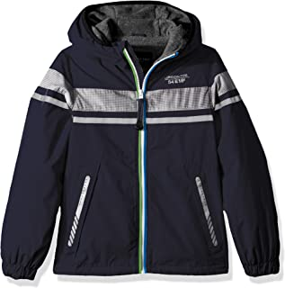 London Fog Boys' Chest Strip Poly Lined Jacket
