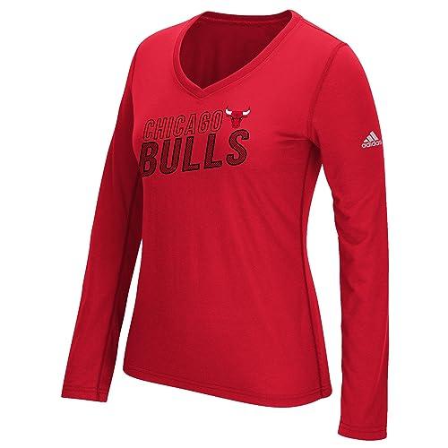adidas NBA Women s Stacked Long Sleeve Ultimate Tee a35eae0087