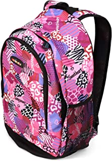School Backpack for Kids, Heavy Duty Bag with Adjustable Padded Straps, Large Main Compartment Comfortable, Cool Prints, Carry Books, Laptop | Travel, Outdoor (Sweetheart Mix Pink)