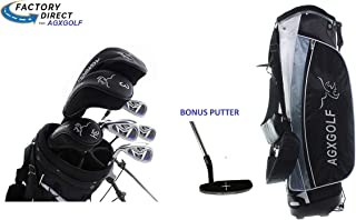 AGXGOLF Ladies Left Hand Magnum XLT Complete Golf Club Set w/Ladies Bag & Free Putter: Petite, Regular or Tall Length