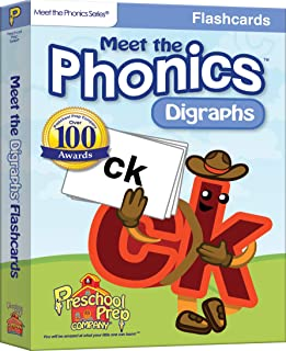 Meet the Phonics - Digraphs - Flashcards