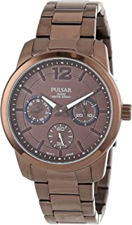 Pulsar Women's PP6063 Chronograph and Analog Calendar Collections Watch