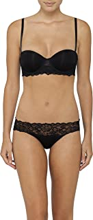 Calvin Klein Women's Seductive Comfort with Lace Strapless Bra