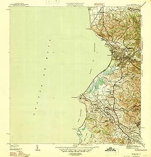 YellowMaps Mayaguez PR topo map, 1:30000 Scale, 7.5 X 7.5 Minute, Historical, 1947, 20.8 x 20 in