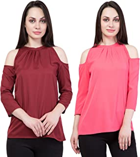 American-Elm Set of 2 Slim fit Top for Women
