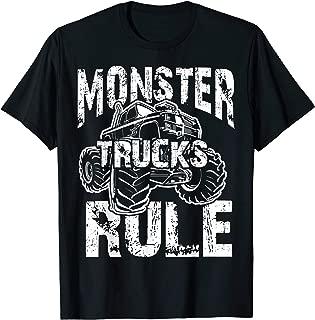 MONSTER TRUCKS RULE Jam For Boys T-Shirt