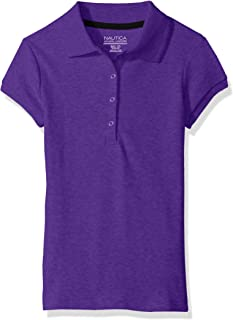 Girls' School Uniform Short Sleeve Pique Polo