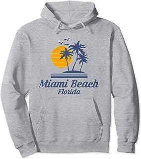 Miami Beach Florida Hoodie FL Tourist Vacation Souvenir Gift