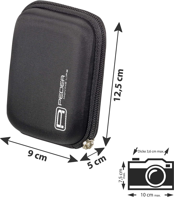DMC TZ7 Sony DSC-WX350 S7000 Panasonic Lumix DMC FT5 PEDEA Funda r/ígida para c/ámara Fujifilm FinePix XP140 Nikon Coolpix AW130