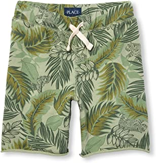 The Childrens Place Boys Big French Terry Active Shorts