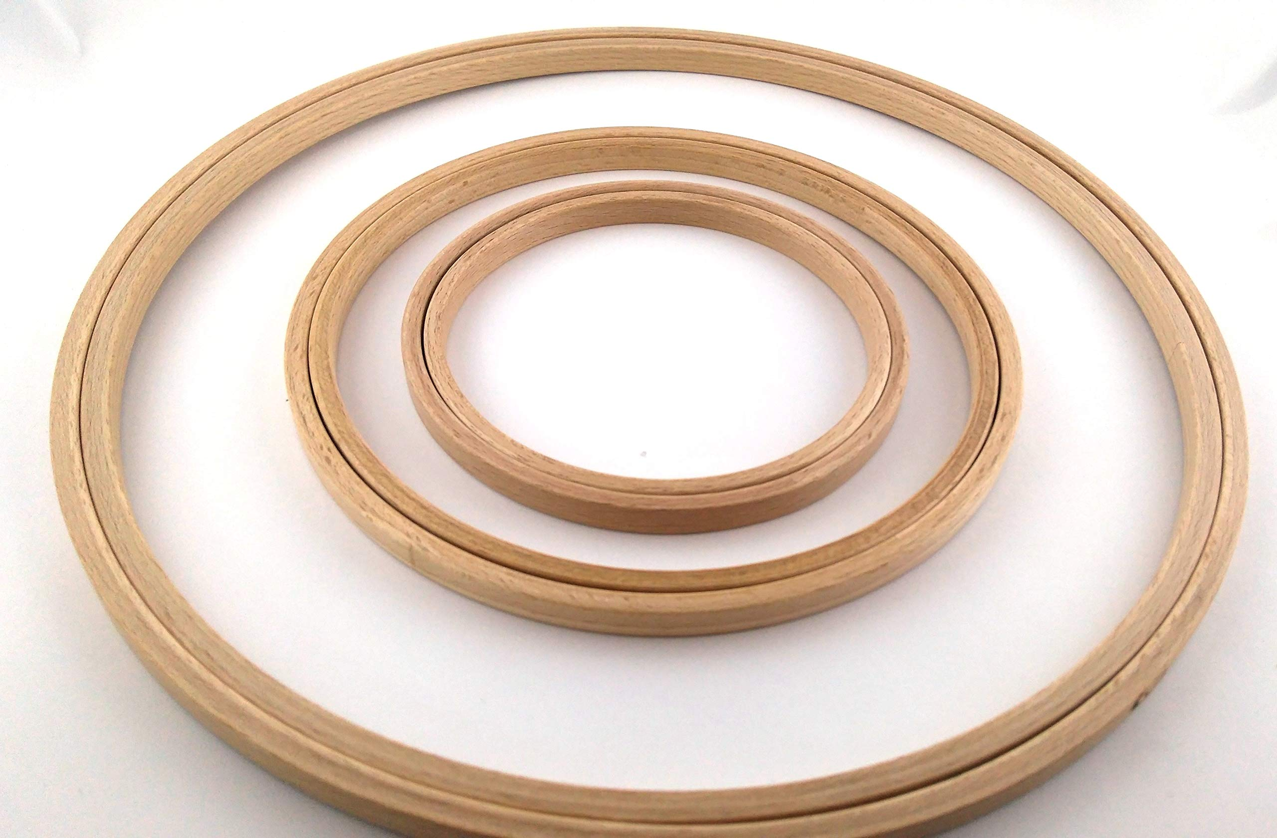 "1 Round Super Grip Hoop For Embroidery Size 4/"" 10cm"