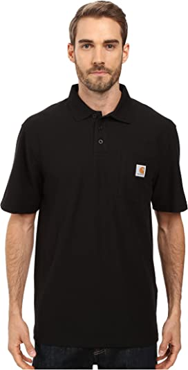 023fcd03522 Carhartt. Force Cotton Delmont Short Sleeve Tee. $21.99. Contractors Work  Pocket™ Polo